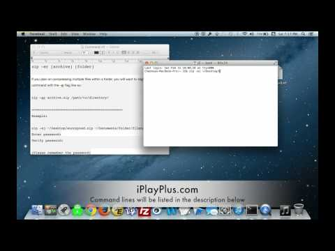 [Howto]Password protect zip files in Mac OS X