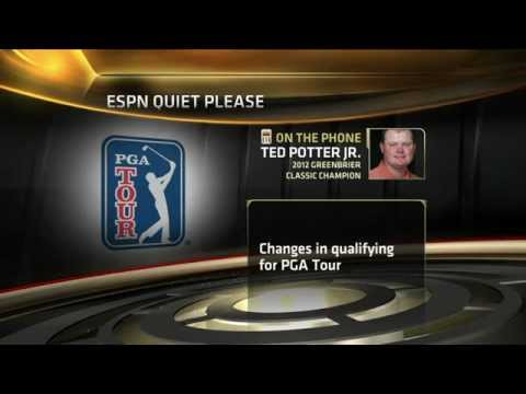 Golf: Changes to PGA tour qualifying