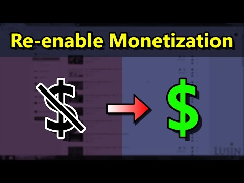 How to Get Your Video Monetizatied Again If It Was Disabled