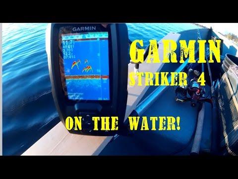 Garmin Striker 4 ON THE WATER REVIEW!