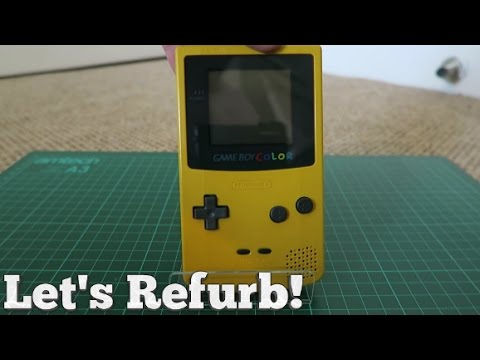 Let's Refurb! - Building a Gameboy Color!