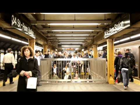 NYC Subway Penn Station