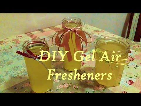 DIY Gel air fresheners - Homemade