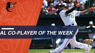 Manny Machado named AL Co-Player of the Week