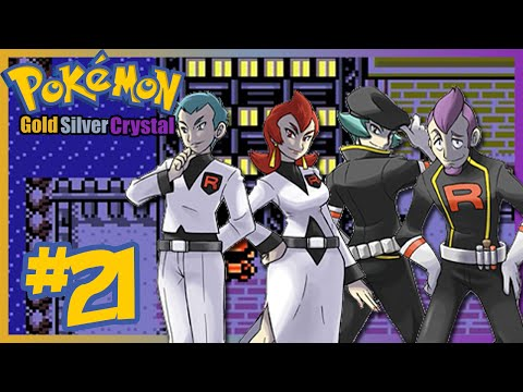 Let's Play Pokémon Gold/Silver/Crystal - Co-op - Part 21 - Team Rocket takes over Goldenrod