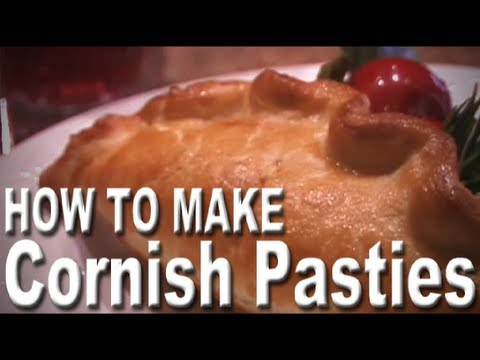 Laughing Chef: How to Make Cornish Pasties English Meat Pies (Includes ingredients & text of recipe)