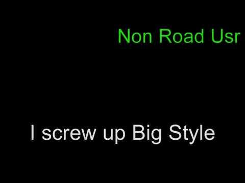 I Screwed Up...... Big Style.