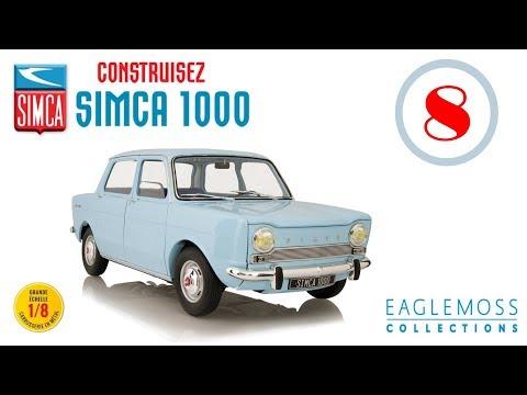 SIMCA 1000 ►échelle 1/8 ◄ Eaglemoss collections # fascicule  8