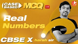 Real Numbers (Case-Based MCQ Series) CBSE Class 10 Math Chapter 1   Board 2021-22   Vedantu 9 and 10