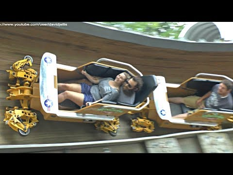 Flying Turns - Unique Wooden Bobsled Coaster - Knoebels Amusement Park