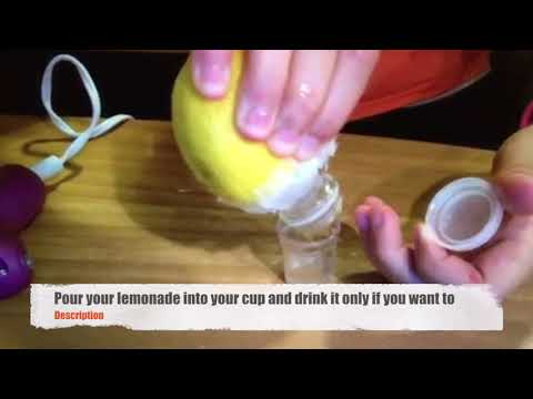 DIY lemon squeezer and holder [AMAZING]