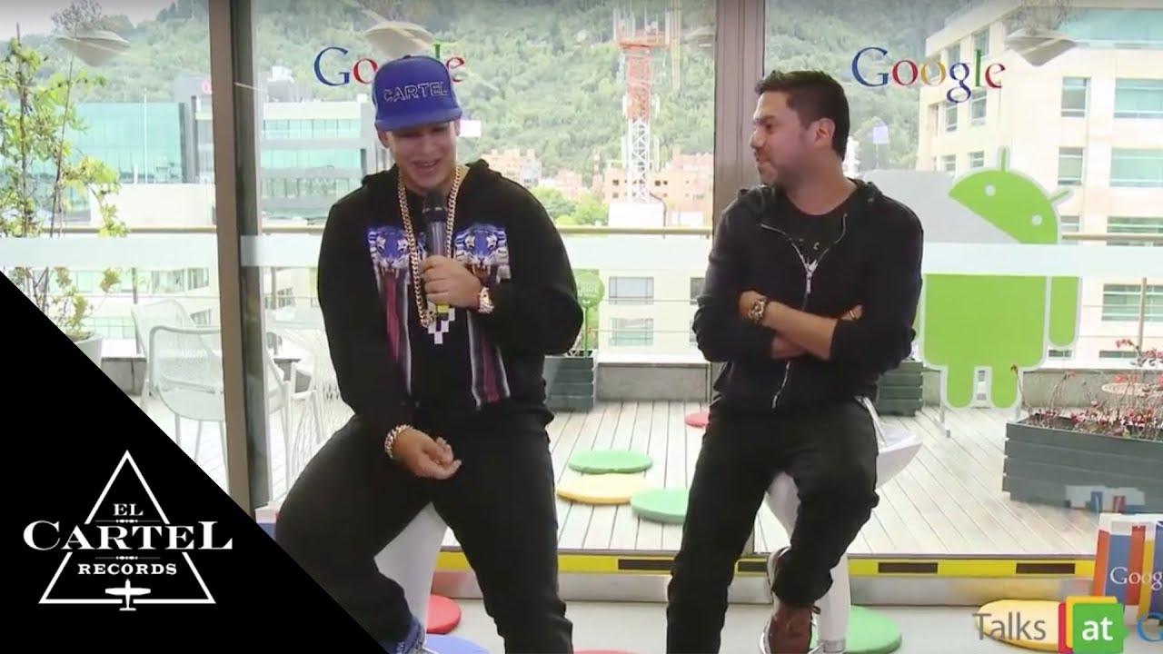 Talk Daddy Yankee w/ Google (Interview)