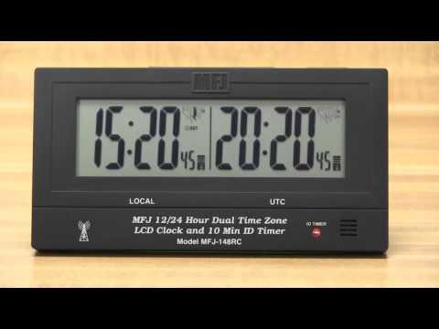 MFJ 148RC Dual Atomic Clock