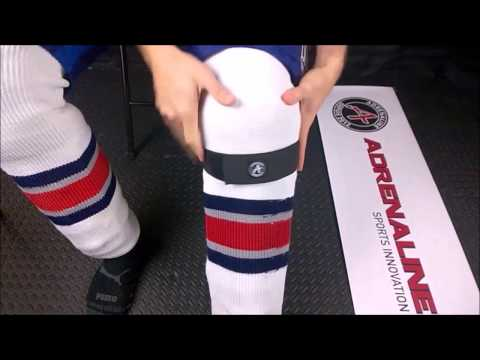 POWERSTRAPS - Finally Hockey Shin Guard Straps that work!