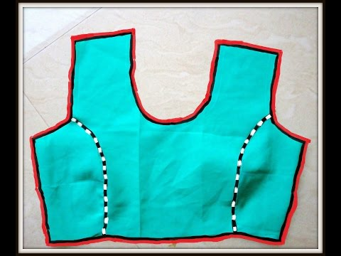 BASIC PRINCESS CUT TWO PIECES PATTERN CUTTING AND SEWING FOR BEGINNERS