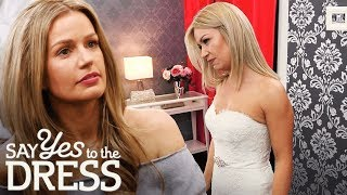 Bride Is Not Afraid To Tell Entourage To Screw Themselves! | Say Yes To The Dress Uk
