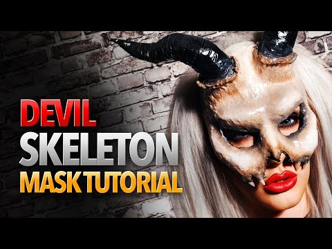 Devil Skeleton Mask Tutorial