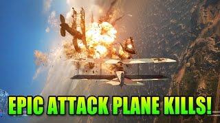 Battlefield 1 Epic Attack Plane Kills | BF1 Gameplay