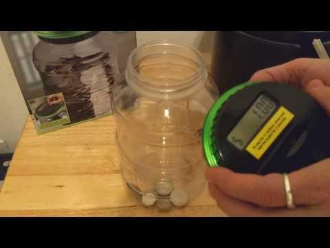 Sharper Image Digital Counting Money Jar - Great Gift for Kids