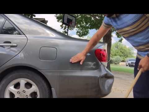 Life Hack - Using Boiling Water to Get Car Dents Out
