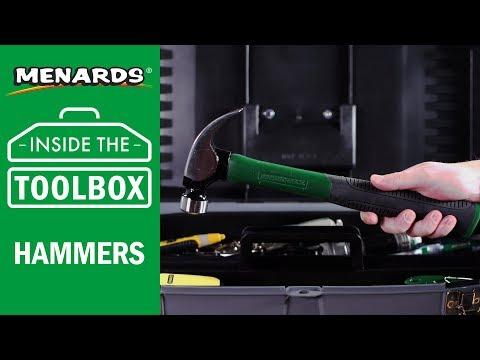 Menards - Inside the Toolbox - Hammers
