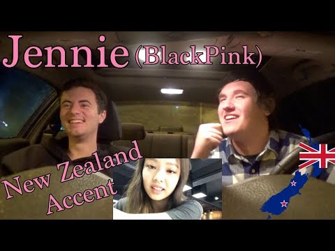 Jennie (BlackPink) New Zealand Accent REACTION [SO CUTE!]