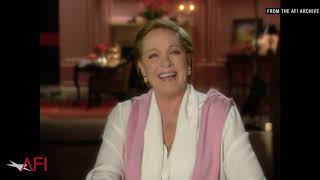 """MARY POPPINS star Julie Andrews on the song """"Supercalifragilisticexpialidocious"""""""