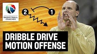 Dribble Drive Motion Offense - Vance Walberg - Basketball Fundamentals