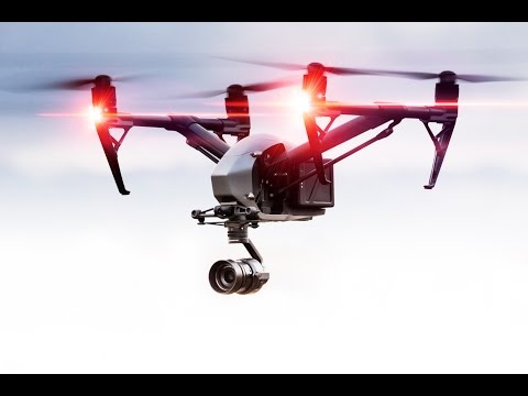 DJI Inspire 2 in the Livermore hills