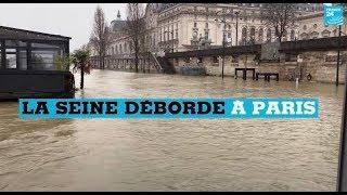 VIDEO : la Seine déborde à Paris
