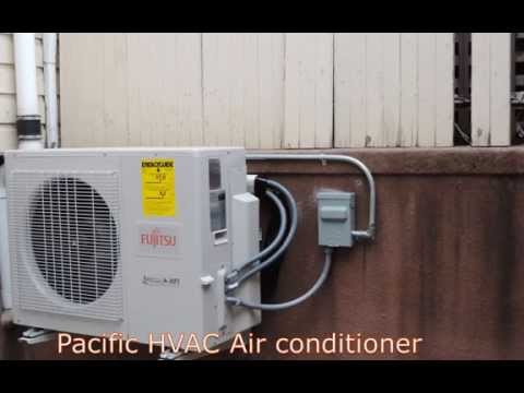 Fujitsu ductless air conditioning  installation - Multi zone system
