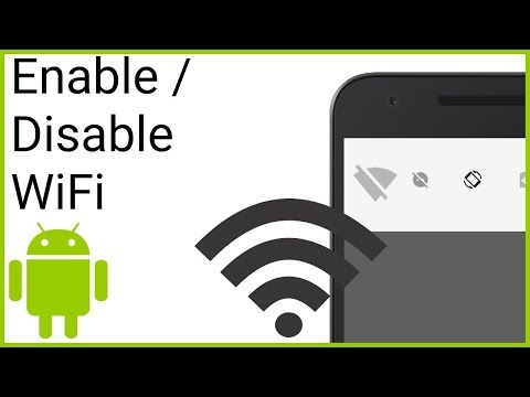 Enable / Disable WiFi Programmatically - Android Studio Tutorial