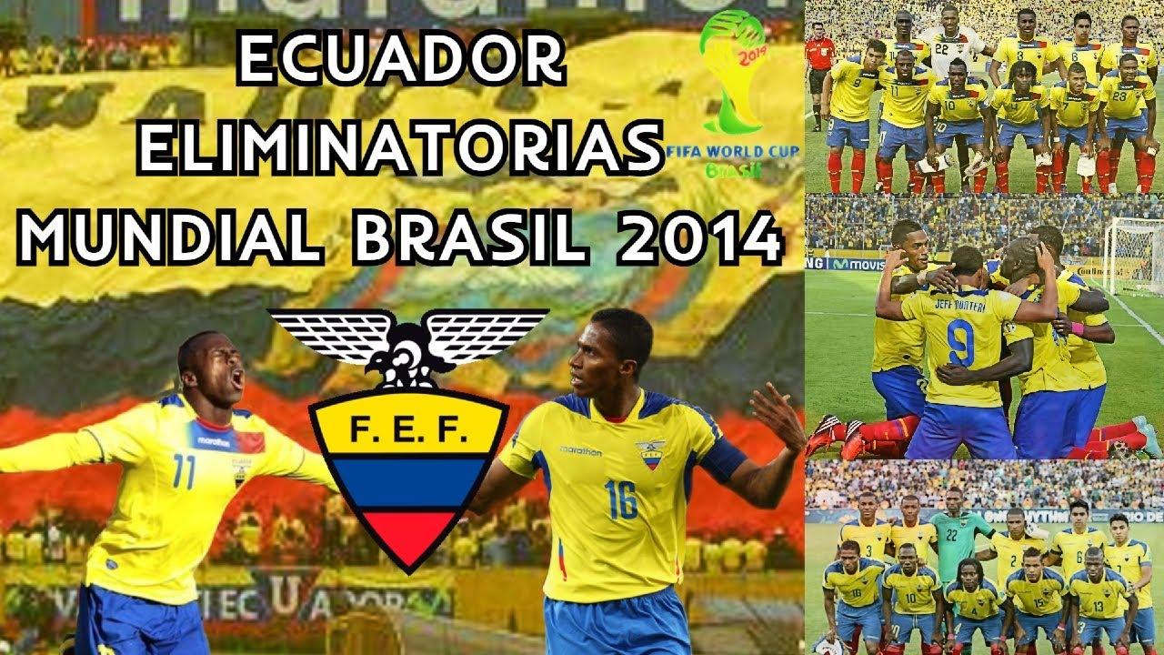 Selección de Ecuador 🇪🇨 Eliminatorias Mundial Brasil 🇧🇷 2014 ⚽ | Review
