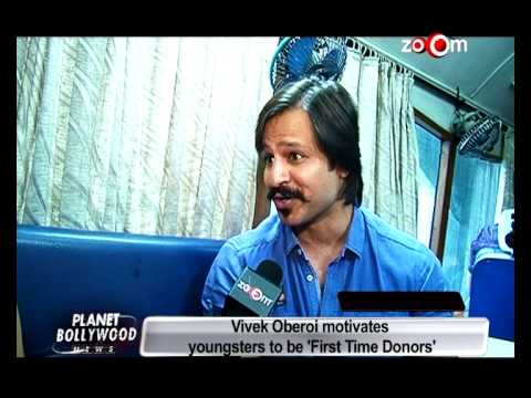 Vivek Oberoi motivates 'First Time Blood Donors' - EXCLUSIVE