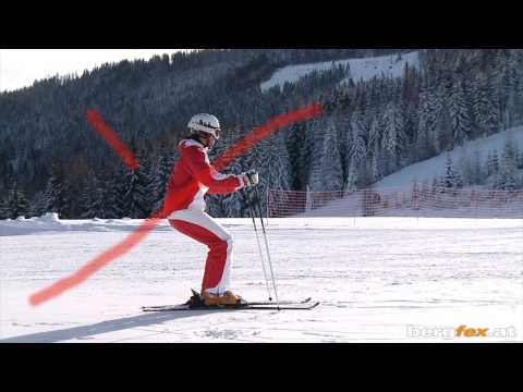Learning to ski: Basics 2 | First lesson on the snow | English
