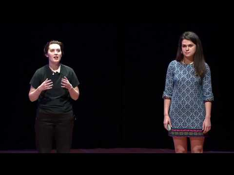 Mental Illness and Empathy in College | Johanna Marks and Susanna Mathews | TEDxConnecticutCollege