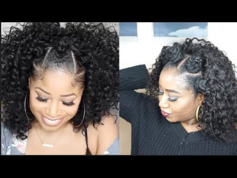 I TRIED FOLLOWING THECHICNATURAL HAIR TUTORIAL