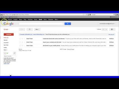 Customizing your Gmail Inbox