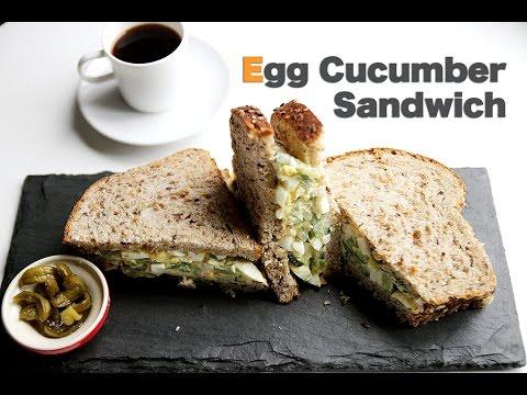 Egg Cucumber Sandwich | Cafe Yooky