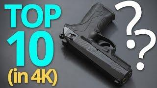 4k: The Real Top 10 9mm Handguns In The World ★ Gun Hipster Edition ★ (no Glocks)