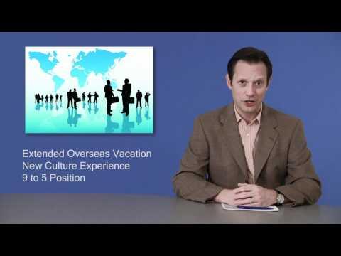 The Benefits of Overseas Contracting Jobs
