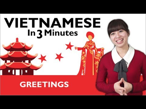 Learn Vietnamese - Greetings