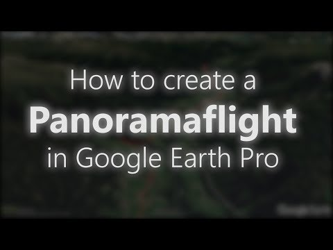 How to create a 3D FLY THROUGH with GOOGLE EARTH