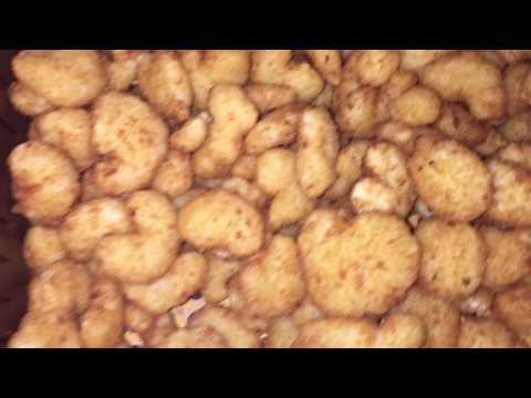 Airfryer frozen fried shrimp