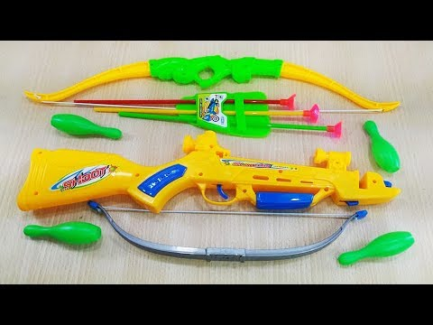 Learn Colors with colorful Box of Toys ! Bow and Arrow for Kids Toy For Kids and children