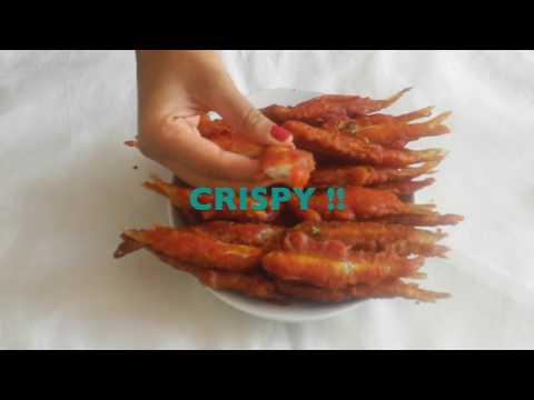CRISPY FRIED SMELT FISH /  NETHILI MEEN FRY