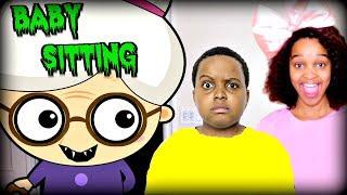 GREEDY GRANNY BABYSITTING! - Shiloh and Shasha Onyx Kids