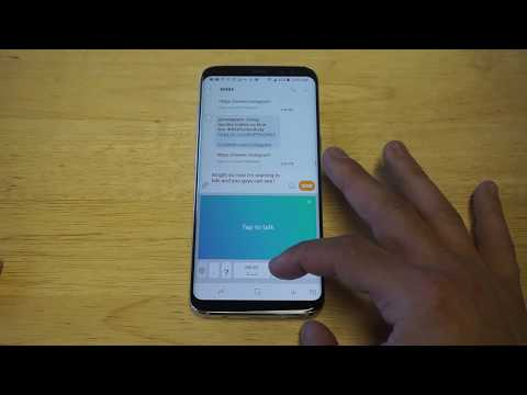 How To Voice Text On Galaxy S8 / Galaxy S8 Plus - Fliptroniks.com