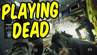 Playing Dead - Rainbow Six Siege Funny Moments & Epic Stuff