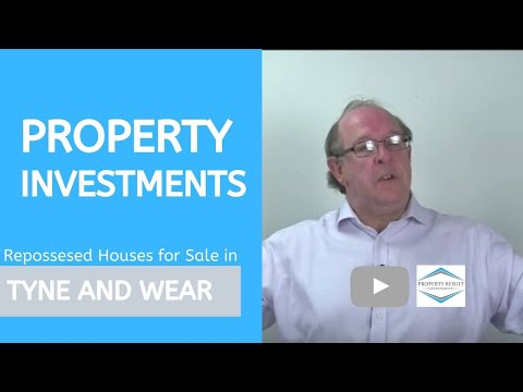 Property Investments in Tyne and Wear – Repossessed Houses for Sale Tyne and Wear